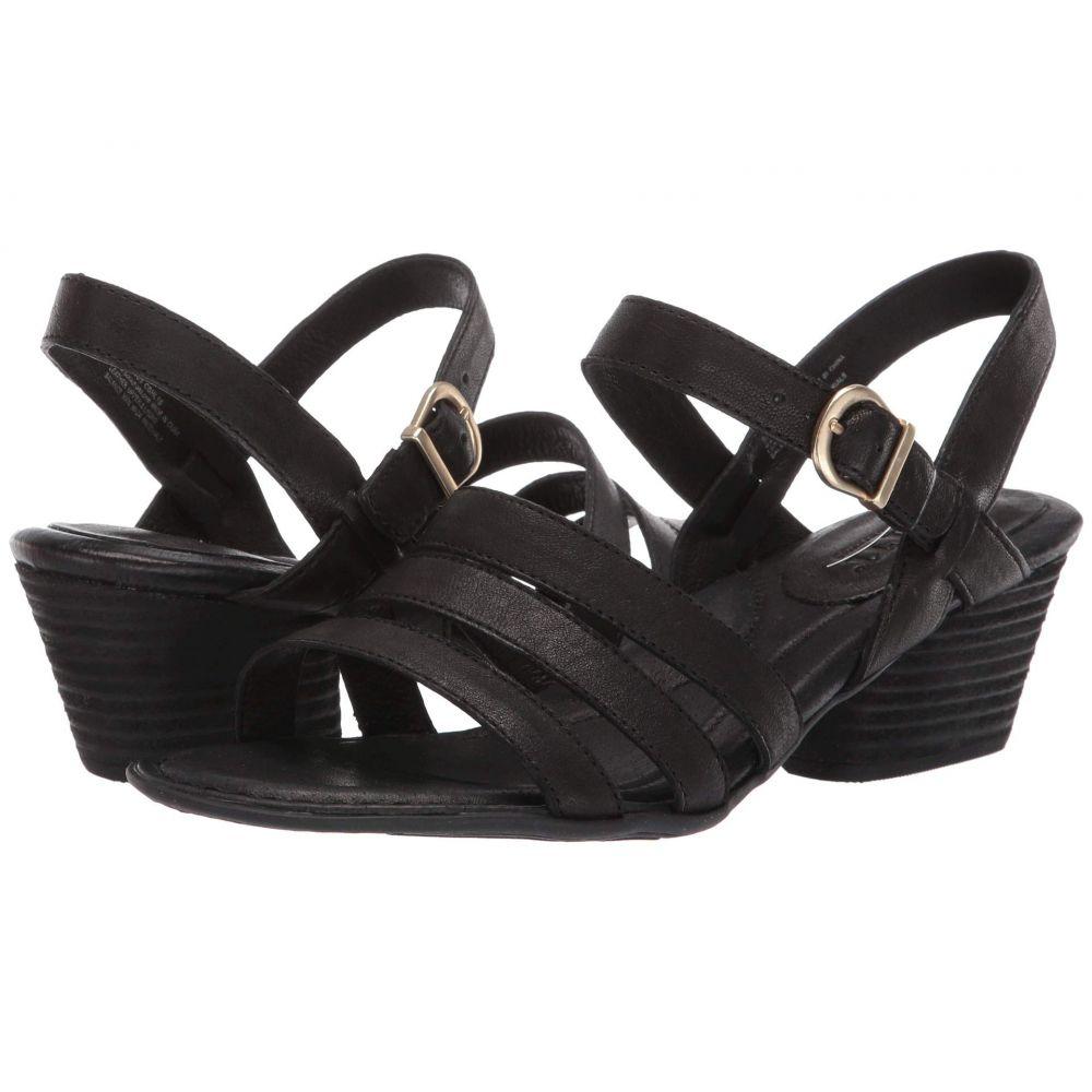 ボーン Born レディース サンダル・ミュール シューズ・靴【LaSal】Black Full Grain Leather