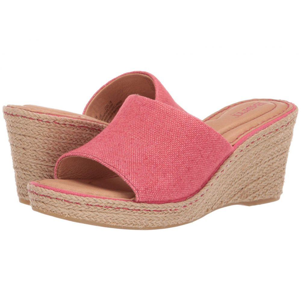 ボーン Born レディース サンダル・ミュール シューズ・靴【Missoula】Red Fabric