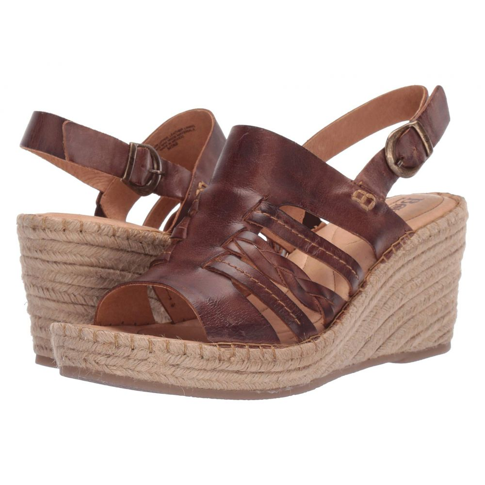 ボーン Born レディース サンダル・ミュール シューズ・靴【Payson】Brown Full Grain Leather