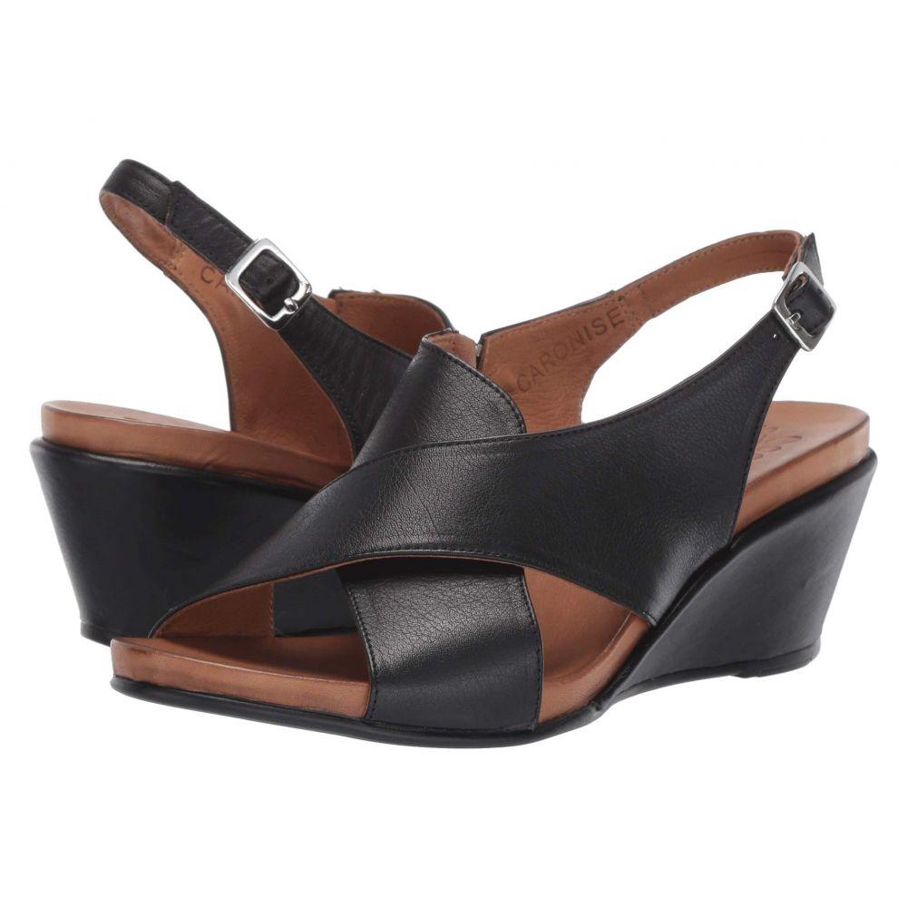 スプリングステップ Spring Step レディース サンダル・ミュール シューズ・靴【Caronise】Black