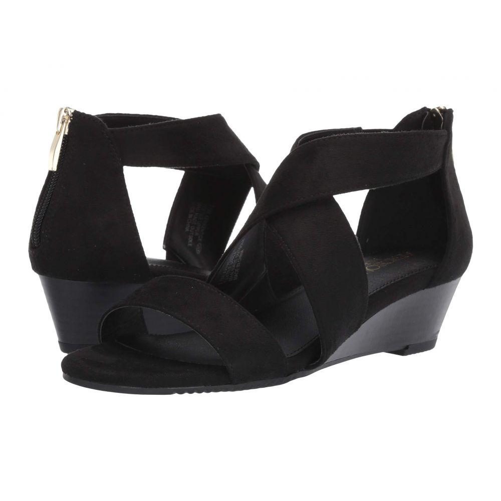 エアロソールズ Aerosoles レディース サンダル・ミュール シューズ・靴【Apprentice】Black Fabric