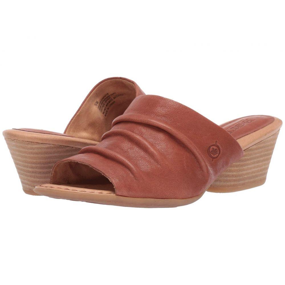 ボーン Born レディース サンダル・ミュール シューズ・靴【Lemhi】Brown Full Grain Leather