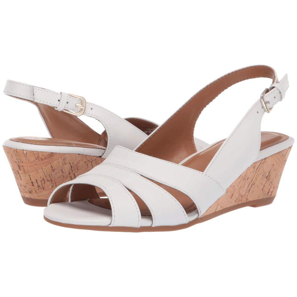 コンフォーティヴァ Comfortiva レディース サンダル・ミュール シューズ・靴【Randi】White M-Vege
