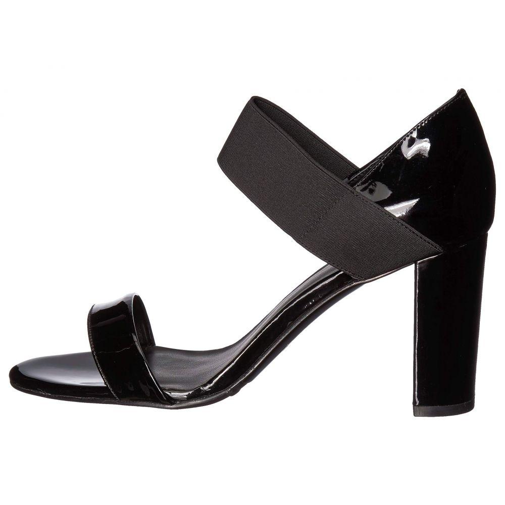 ヴァネリ Vaneli レディース サンダル・ミュール シューズ・靴 Berdy Black Patent Black ElasticqzMVpSU