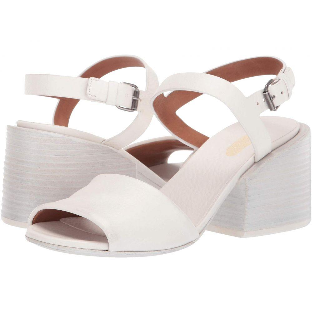マルセル Marsell レディース サンダル・ミュール シューズ・靴【Stacked Heel Cut Out Sandal】Optic White