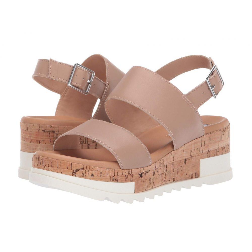 スティーブ マデン Steve Madden レディース サンダル・ミュール ウェッジソール シューズ・靴【Brenda Wedge Sandal】Natural Leather