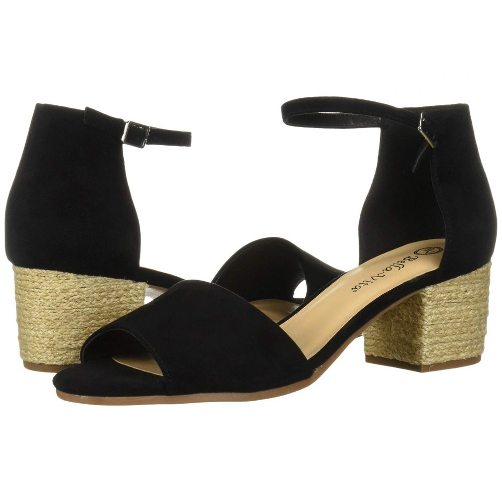ベラヴィータ Bella-Vita レディース サンダル・ミュール シューズ・靴【Fable】Black Suede Leather
