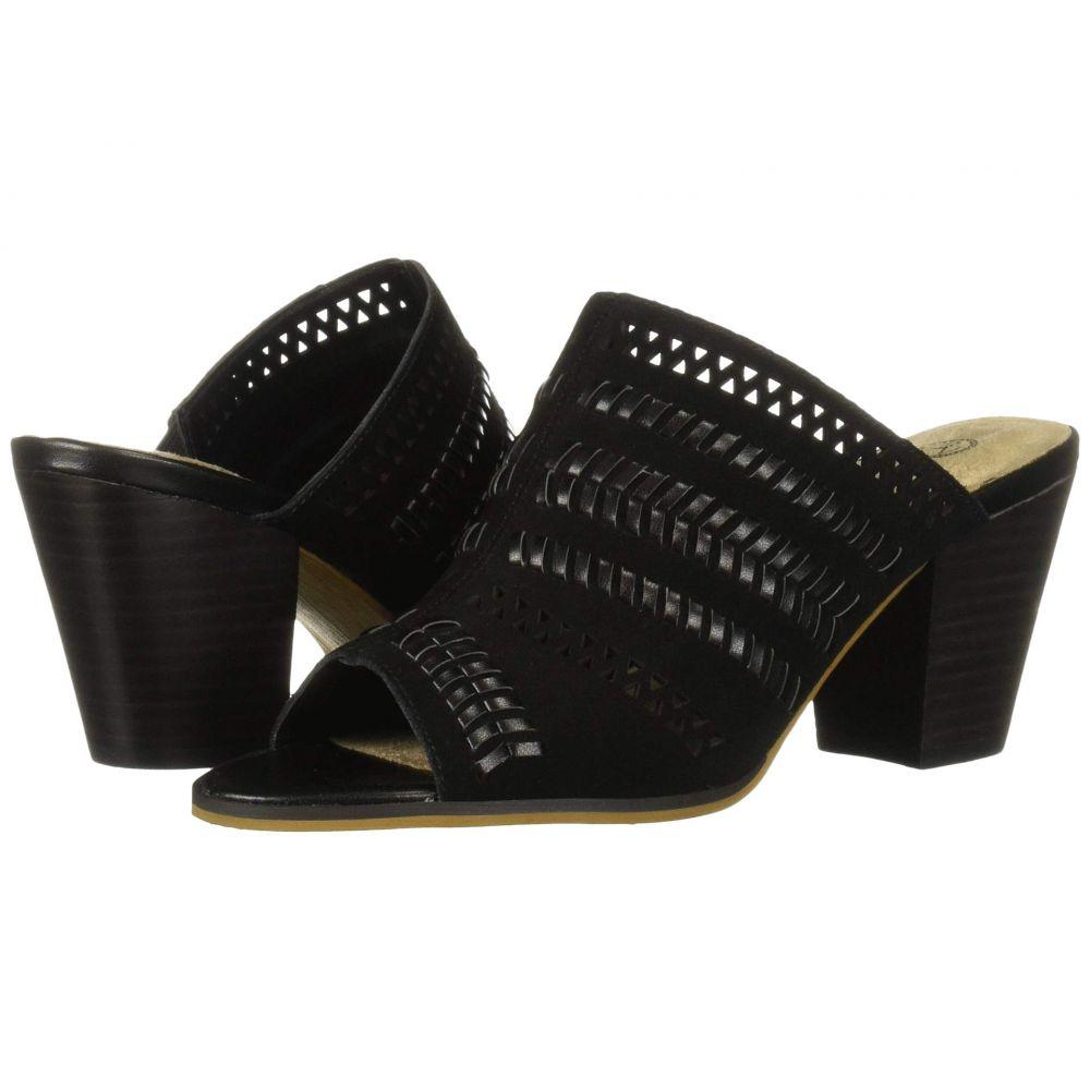 ベラヴィータ Bella-Vita レディース サンダル・ミュール シューズ・靴【Koraline】Black Suede Leather