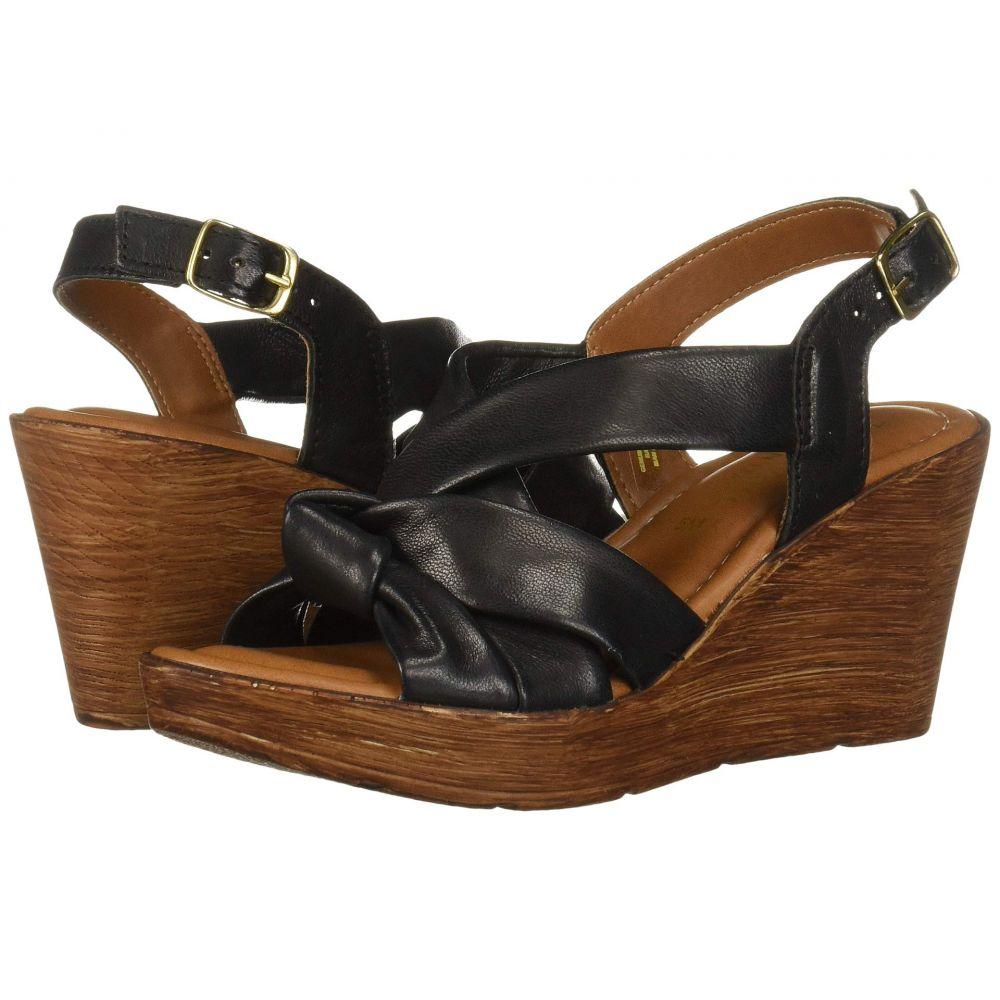 ベラヴィータ Bella-Vita レディース サンダル・ミュール シューズ・靴【Wes-Italy】Black Italian Leather