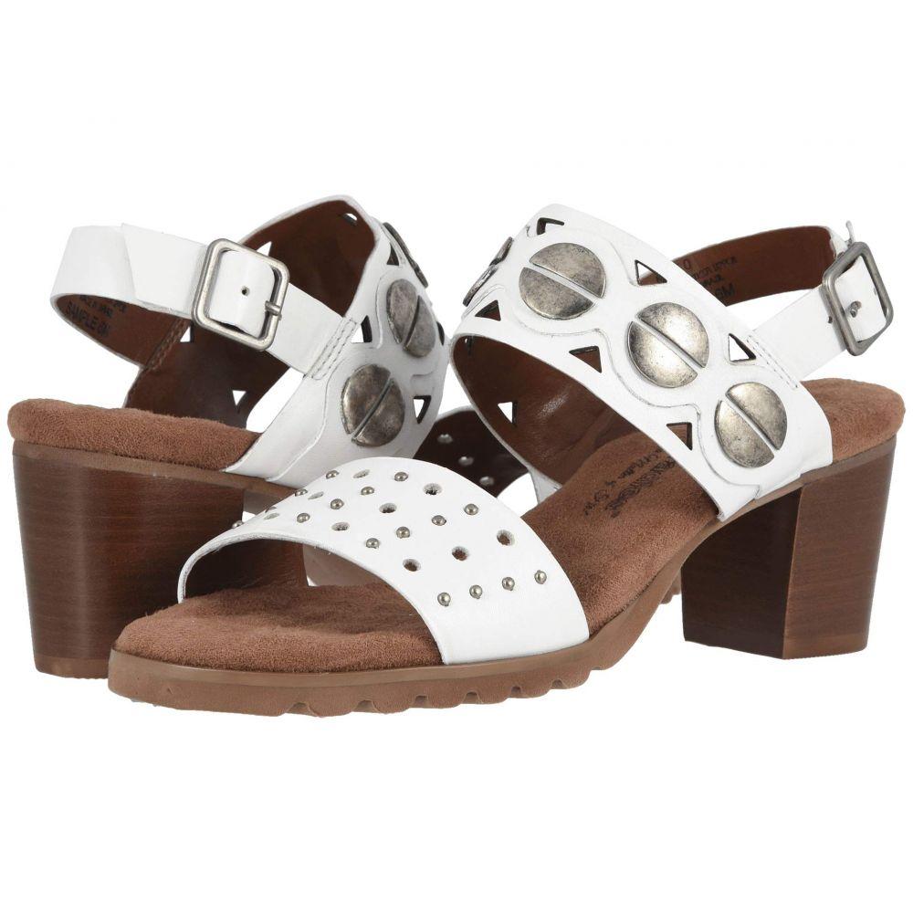 ウォーキング クレードル Walking Cradles レディース サンダル・ミュール シューズ・靴【Niko】White Leather