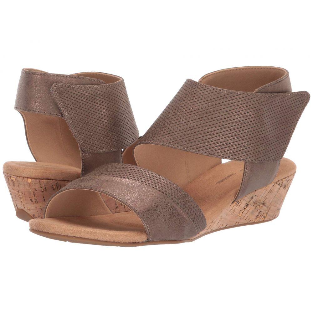 ロックポート Rockport レディース サンダル・ミュール シューズ・靴【Calia Two-Piece Sandal】Bronze