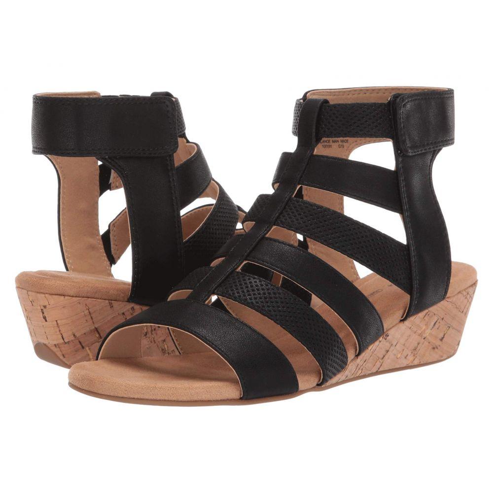 ロックポート Rockport レディース サンダル・ミュール シューズ・靴【Calia Gladiator】Black