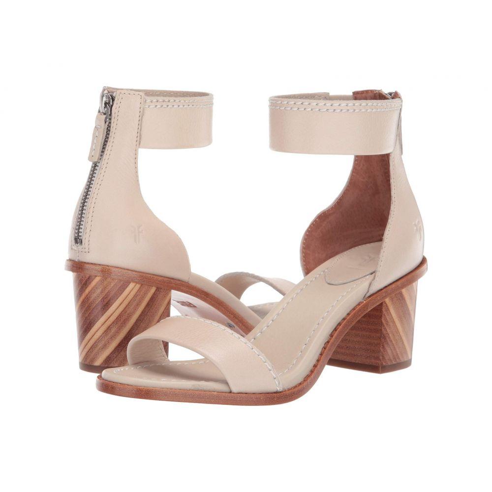 フライ Frye レディース サンダル・ミュール シューズ・靴【Brielle Bias Zip】Off-White