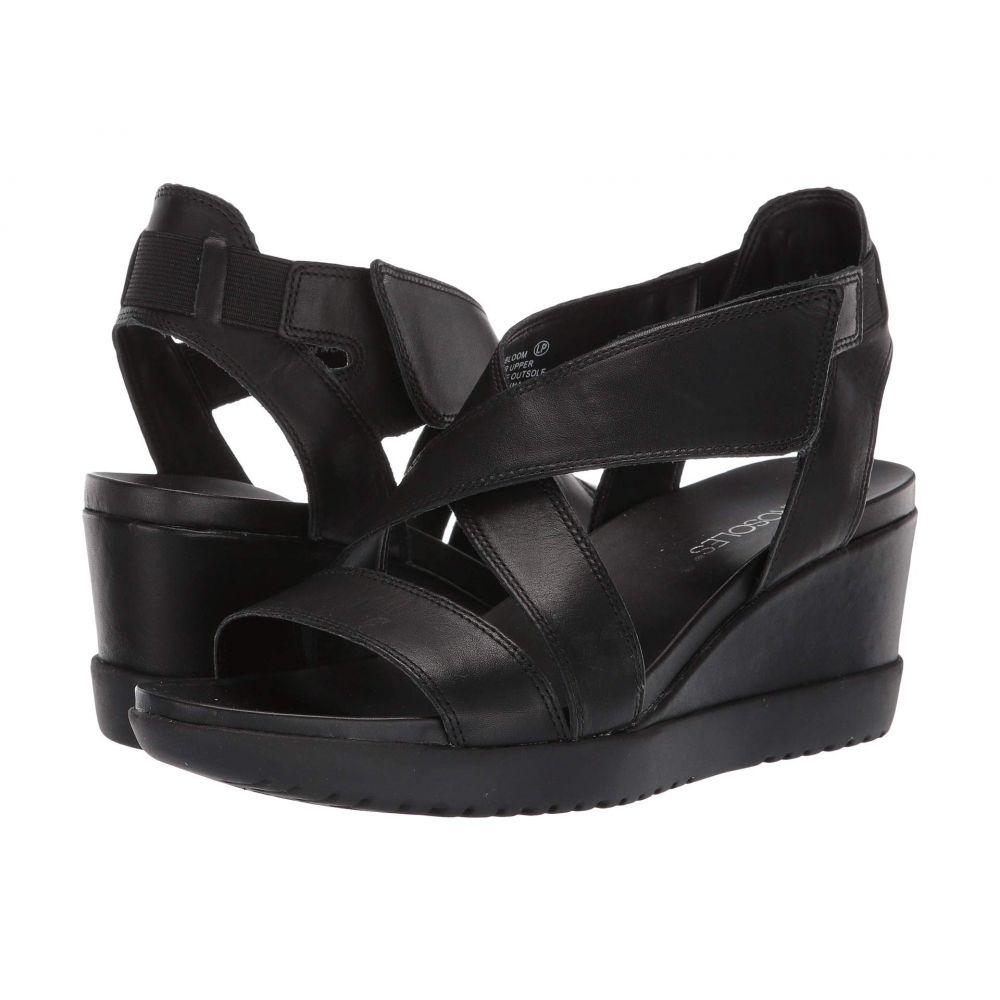 エアロソールズ Aerosoles レディース サンダル・ミュール シューズ・靴【Bloom】Black Leather
