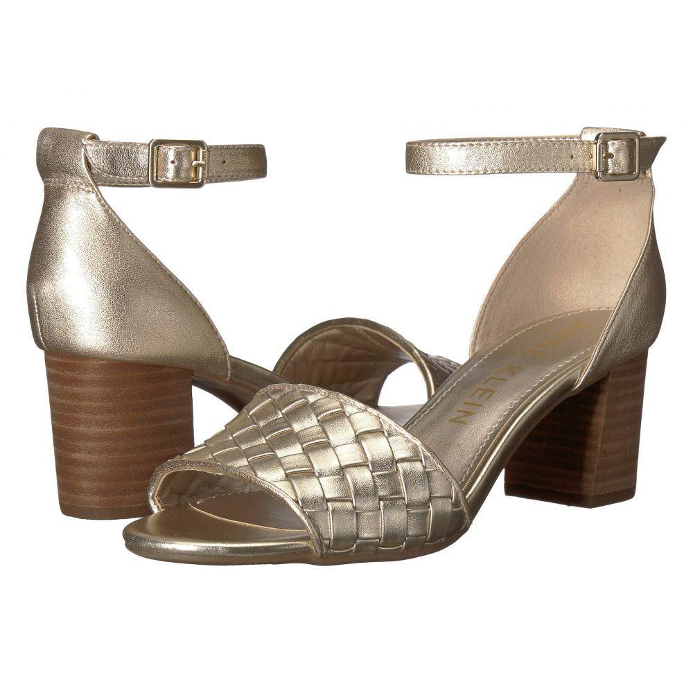 アン クライン Anne Klein レディース サンダル・ミュール シューズ・靴【Carine Heeled Sandal】Light Gold