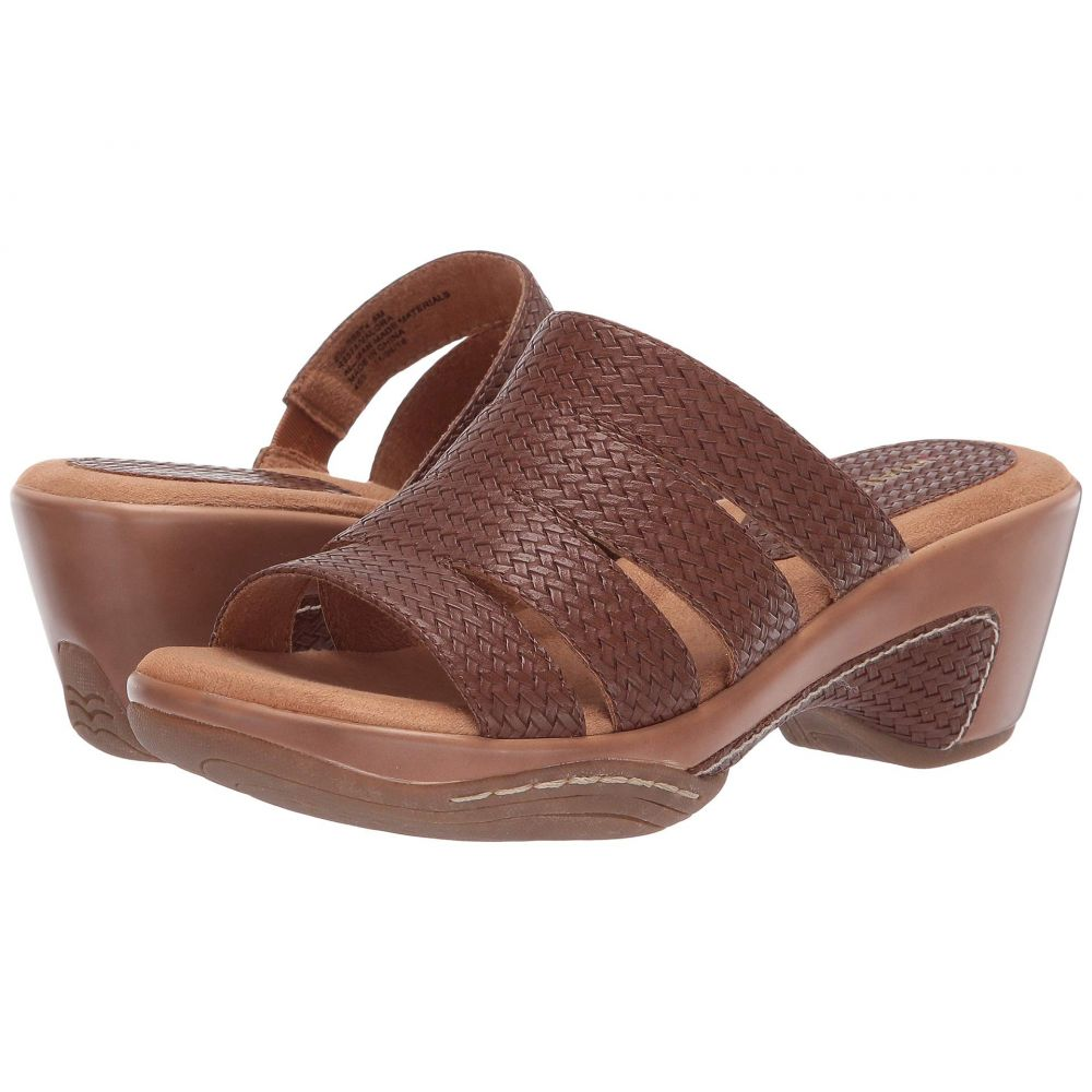 リアルト Rialto レディース サンダル・ミュール シューズ・靴【Valora】Brown Woven
