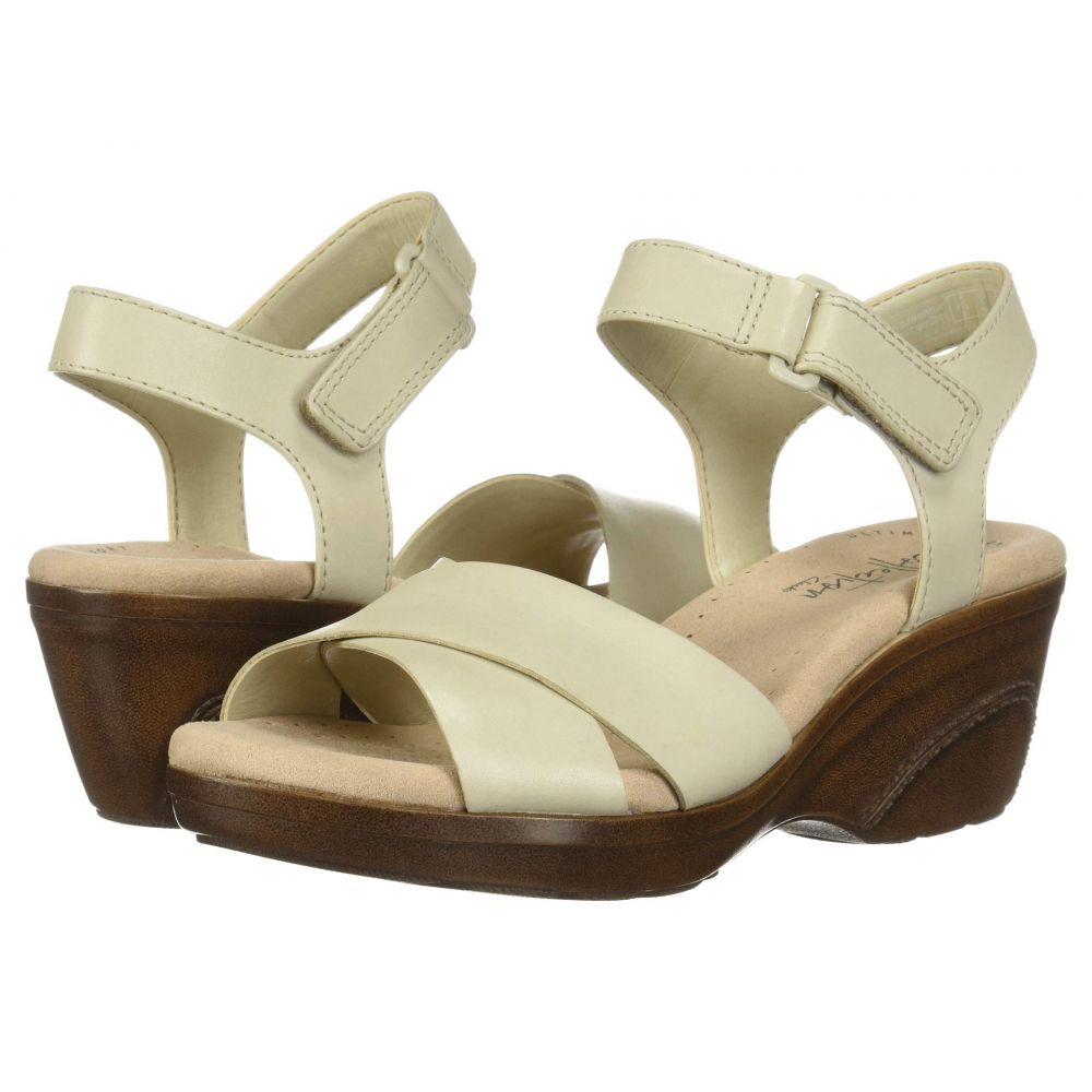 クラークス Clarks レディース サンダル・ミュール シューズ・靴【Lynette Deb】Ivory Leather