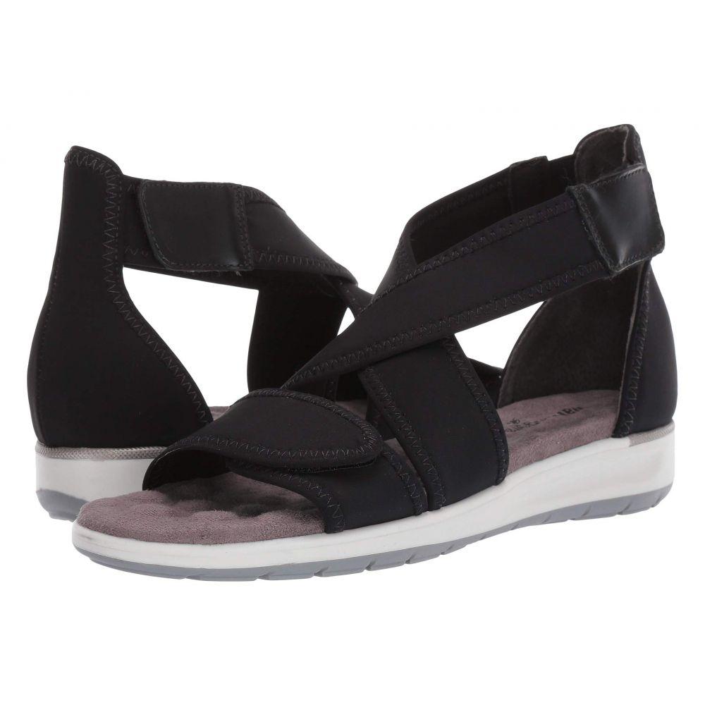 ウォーキング クレードル Walking Cradles レディース サンダル・ミュール シューズ・靴【Stardust】Black Lycra