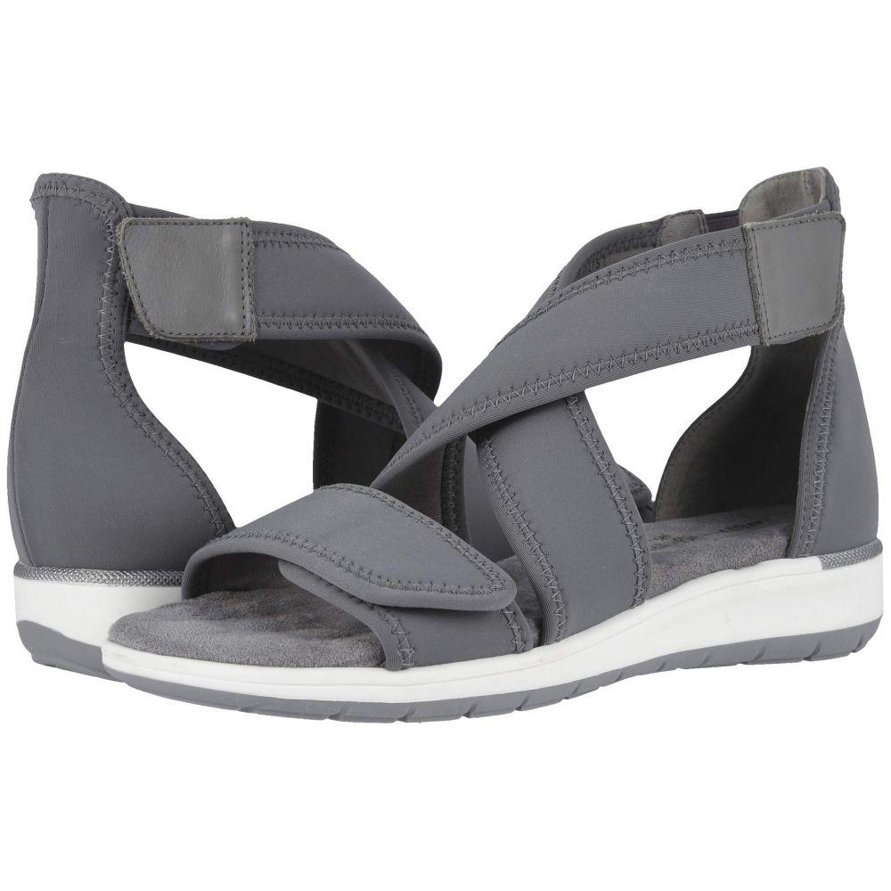 ウォーキング クレードル Walking Cradles レディース サンダル・ミュール シューズ・靴【Stardust】Slate Gray Lycra