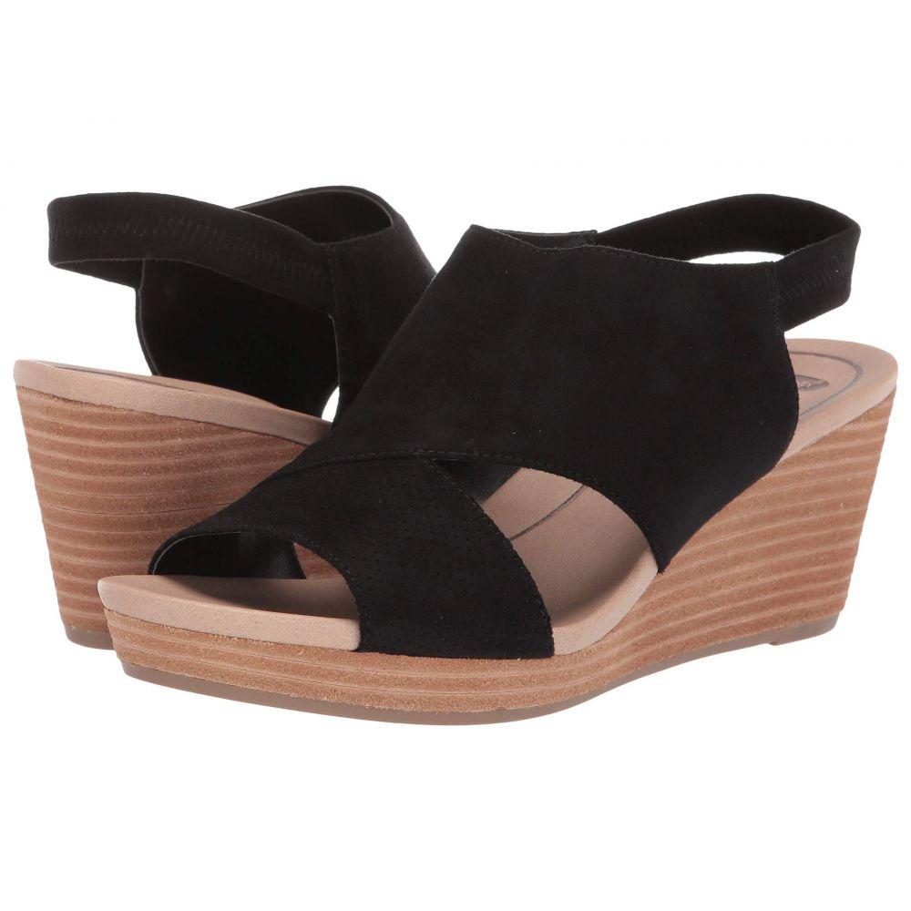 ドクター ショール Dr. Scholl's レディース サンダル・ミュール シューズ・靴【Brita】Black Microfiber