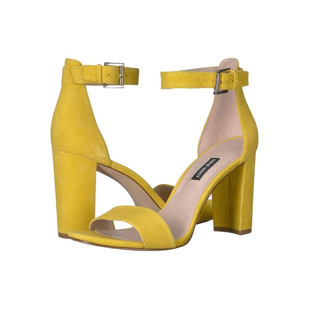 ナインウェスト Nine West レディース サンダル・ミュール シューズ・靴【Nora Block Heeled Sandal】Citrine Yellow