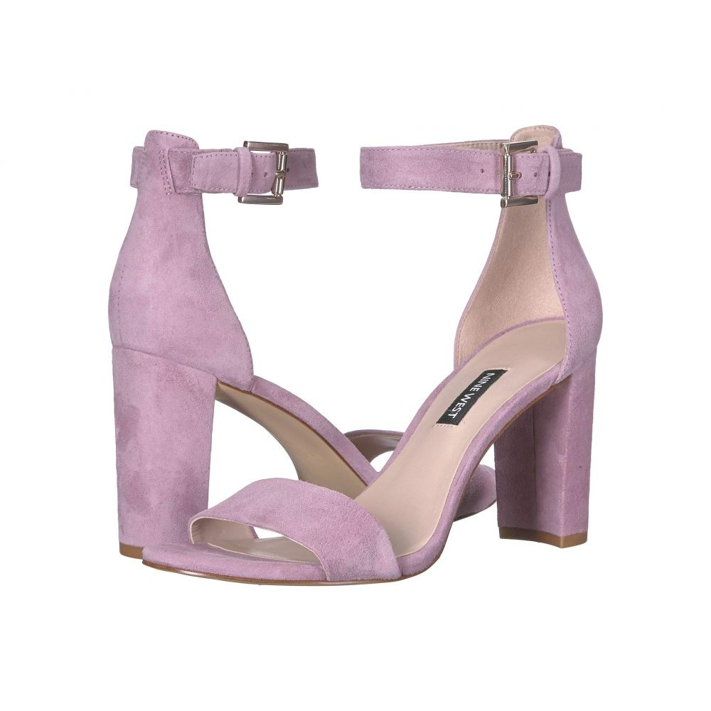 ナインウェスト Nine West レディース サンダル・ミュール シューズ・靴【Nora Block Heeled Sandal】Wisteria Lilac