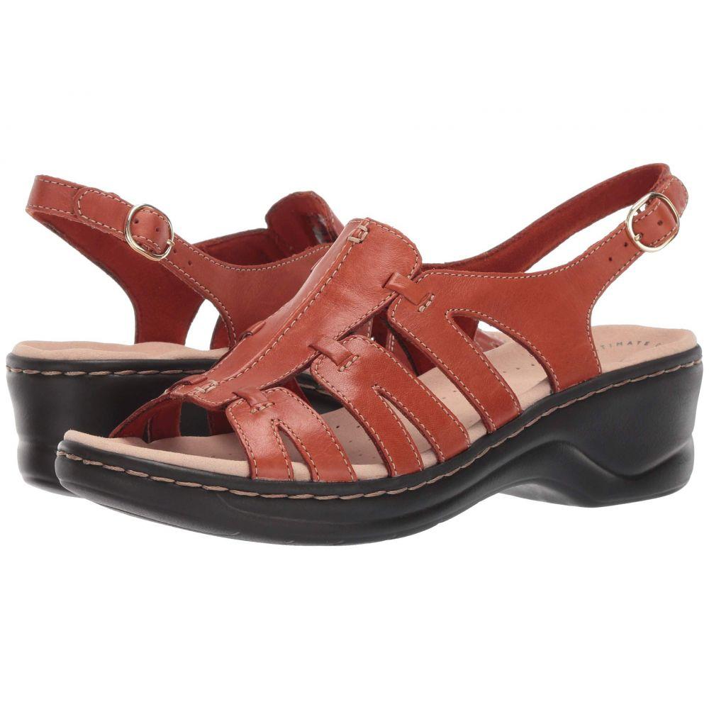 クラークス Clarks レディース サンダル・ミュール シューズ・靴【Lexi Marigold Q】Rust Leather