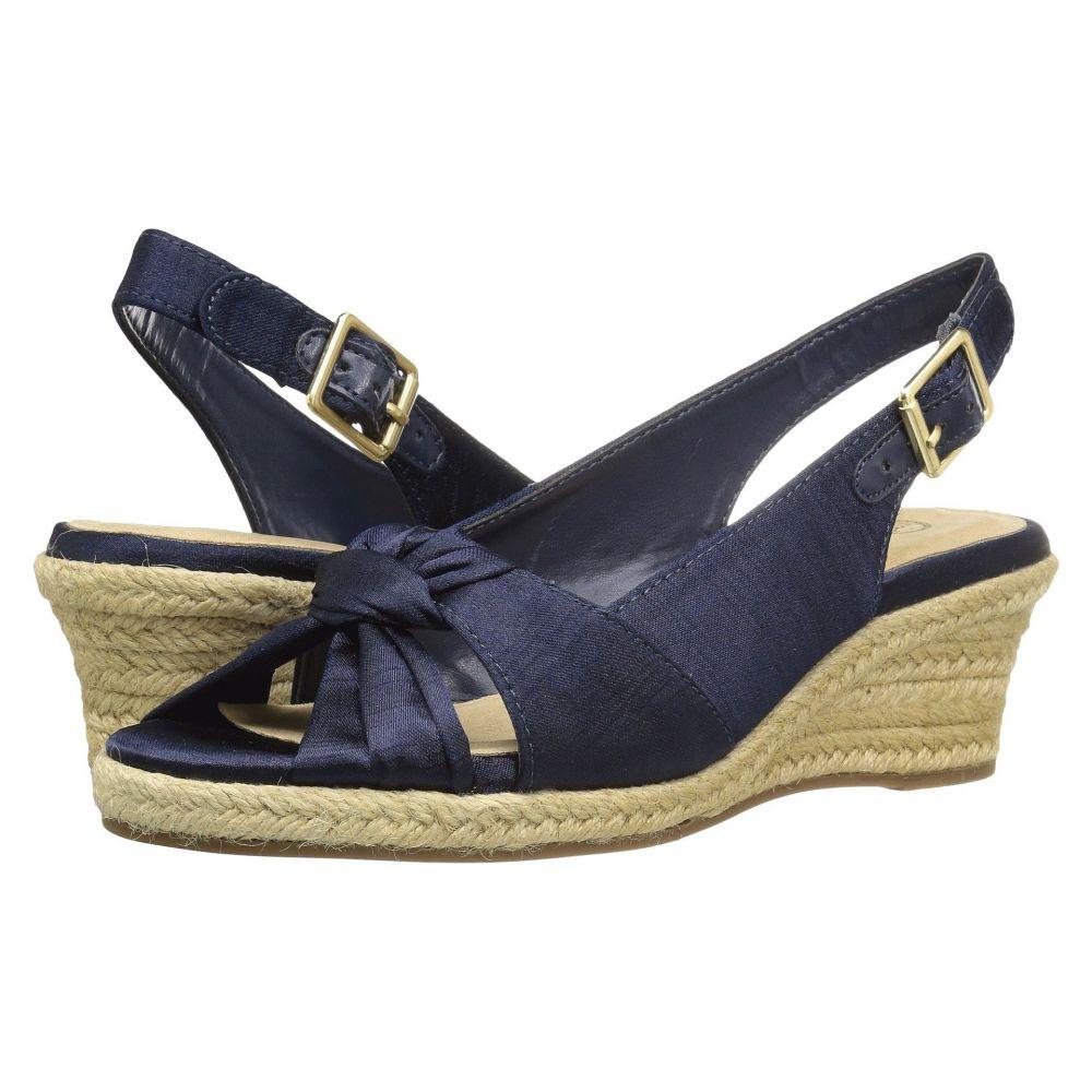 ベラヴィータ Bella-Vita レディース サンダル・ミュール シューズ・靴【Seraphina II】Navy Silk