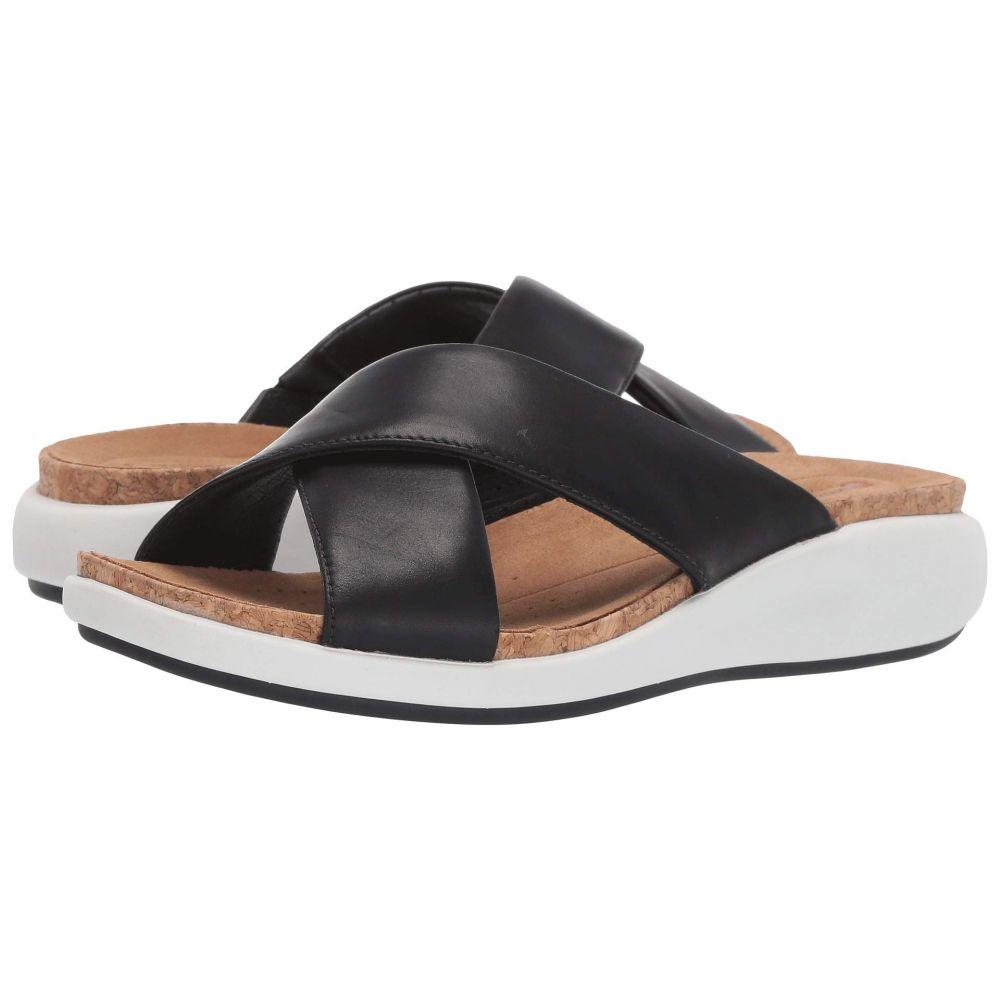 クラークス Clarks レディース サンダル・ミュール シューズ・靴【Un Bali Go】Black Leather