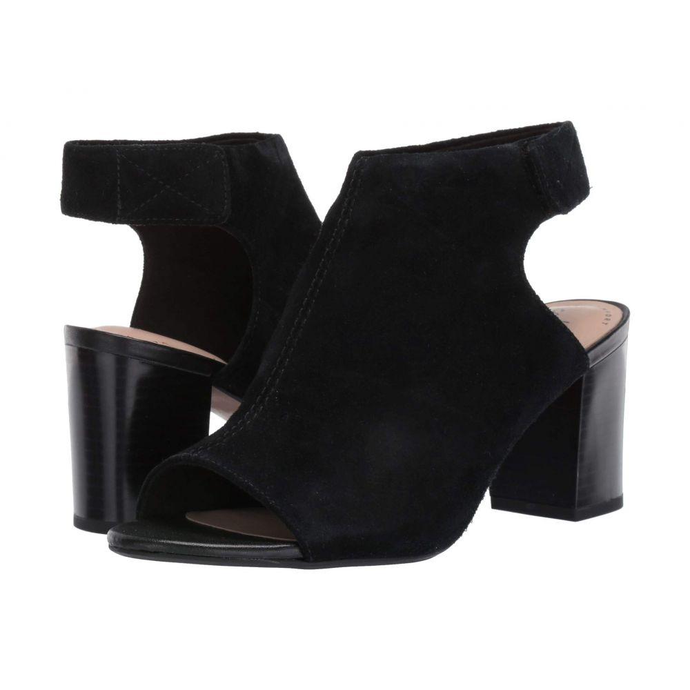 クラークス Clarks レディース サンダル・ミュール シューズ・靴【Deva Bell】Black Suede