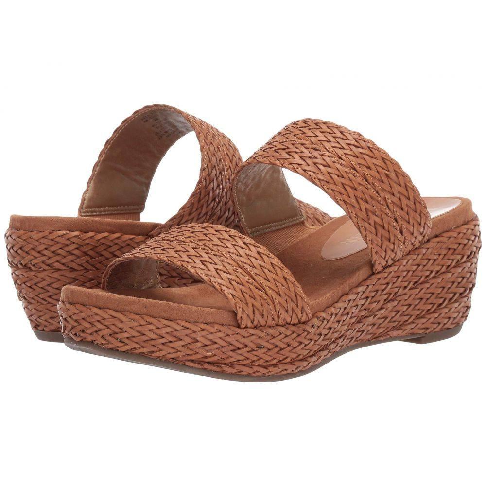 アン クライン Anne Klein レディース サンダル・ミュール シューズ・靴【Zala Platform Sandal】Tobacco