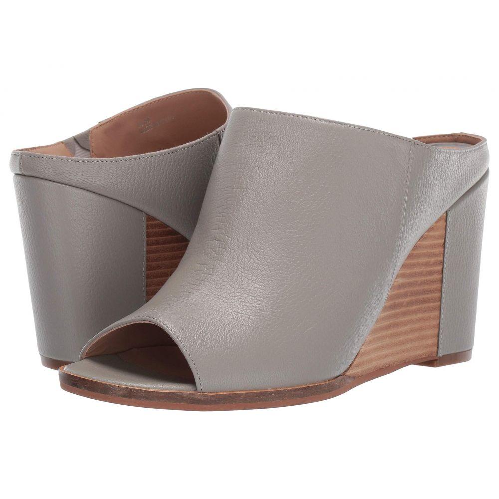 リネアパウロ LINEA Paolo レディース サンダル・ミュール ウェッジソール シューズ・靴【Gaia Wedge Heel】Grey Grainy Goat Leather