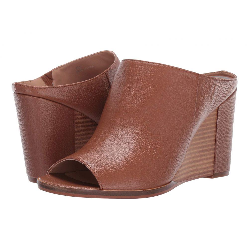 リネアパウロ LINEA Paolo レディース サンダル・ミュール ウェッジソール シューズ・靴【Gaia Wedge Heel】Cognac Grainy Goat Leather