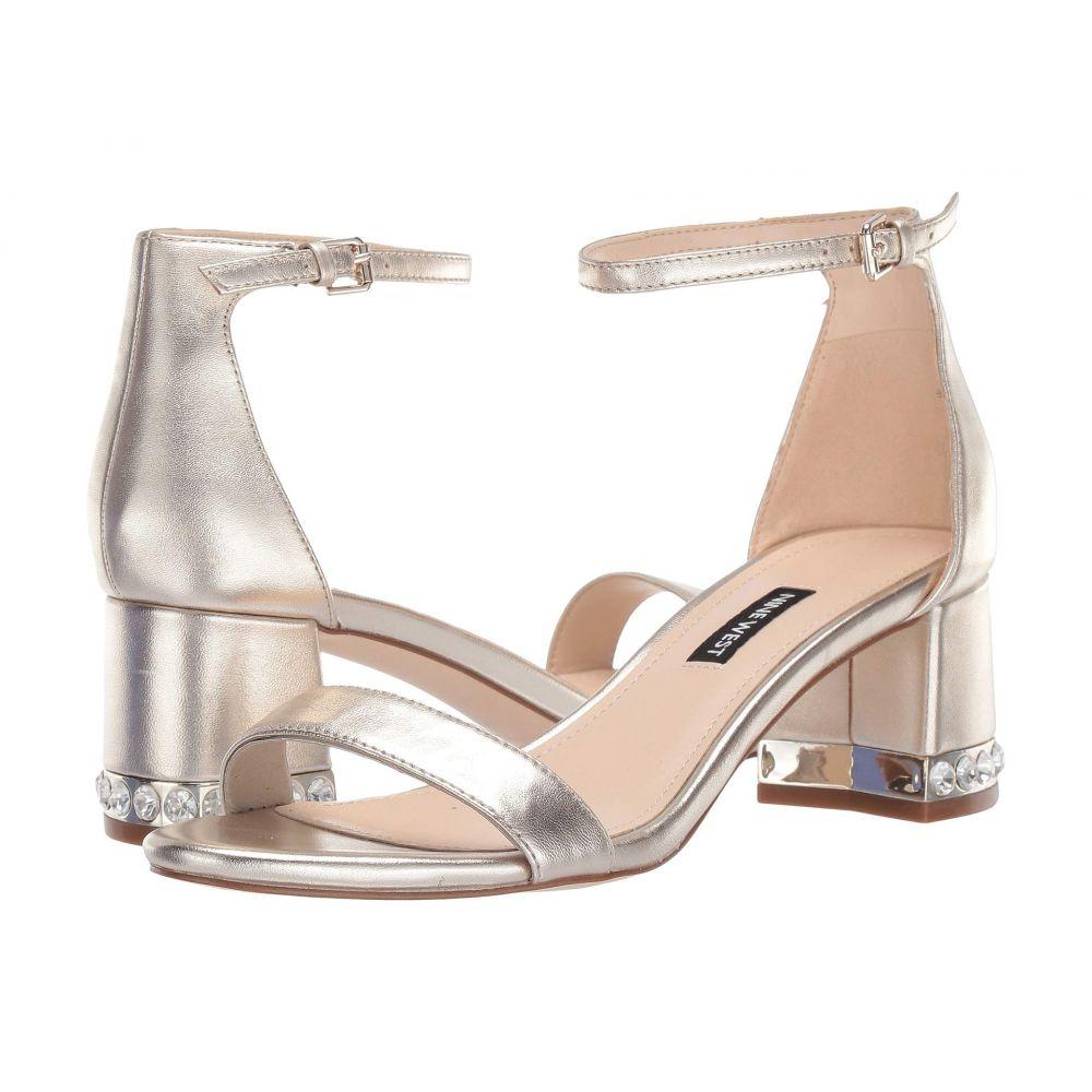ナインウェスト Nine West レディース サンダル・ミュール シューズ・靴【Hazel Sandal】Light Gold