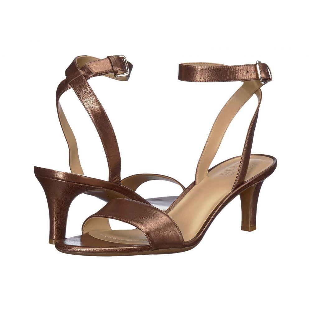 ナチュラライザー Naturalizer レディース サンダル・ミュール シューズ・靴【Tinda】Lodge Brown Pearl Leather