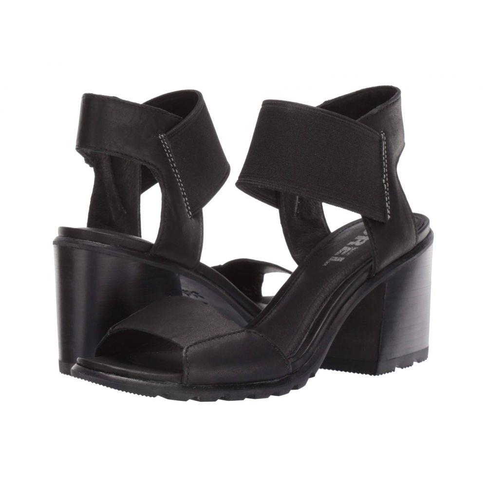 ソレル SOREL レディース サンダル・ミュール シューズ・靴【Nadia Sandal】Black Full Grain Leather
