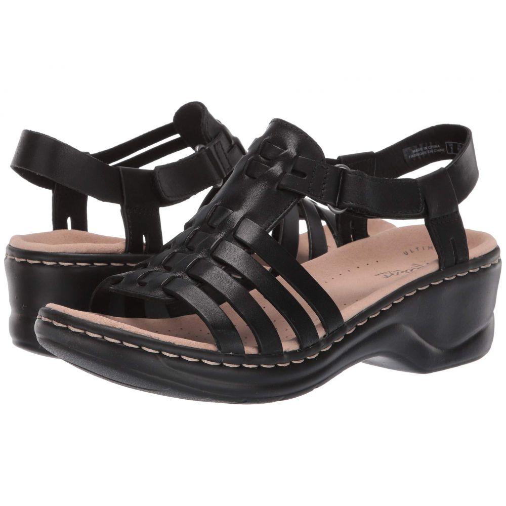 クラークス Clarks レディース サンダル・ミュール シューズ・靴【Lexi Bridge】Black Leather