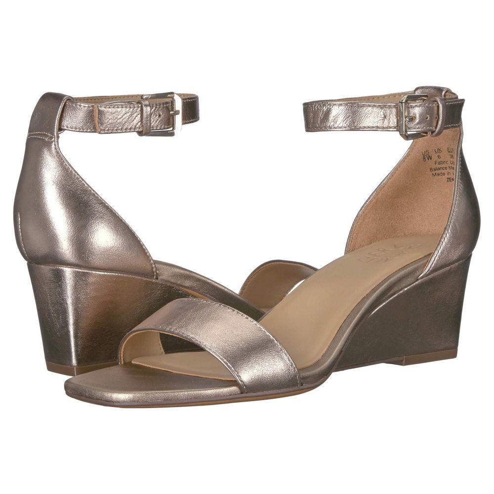 ナチュラライザー Naturalizer レディース サンダル・ミュール シューズ・靴【Zenia】Light Bronze Metallic Leather