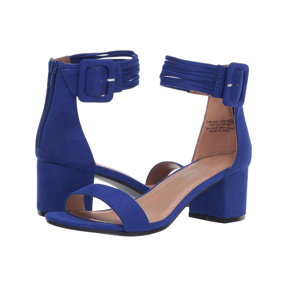 エアロソールズ Aerosoles レディース サンダル・ミュール シューズ・靴【Martha Stewart Mid Year】Blue Fabric
