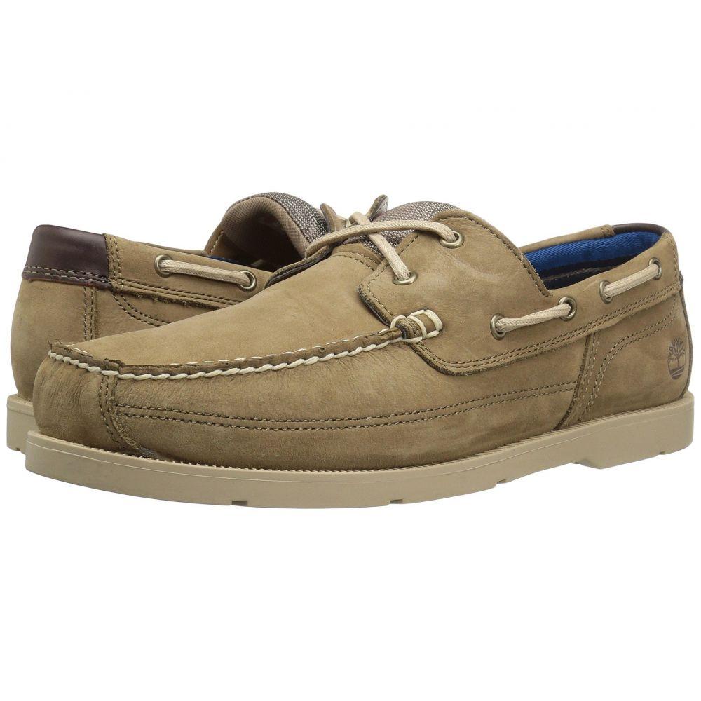 ティンバーランド Timberland メンズ デッキシューズ シューズ・靴【Piper Cove Leather Boat Shoe】Light Brown Nubuck