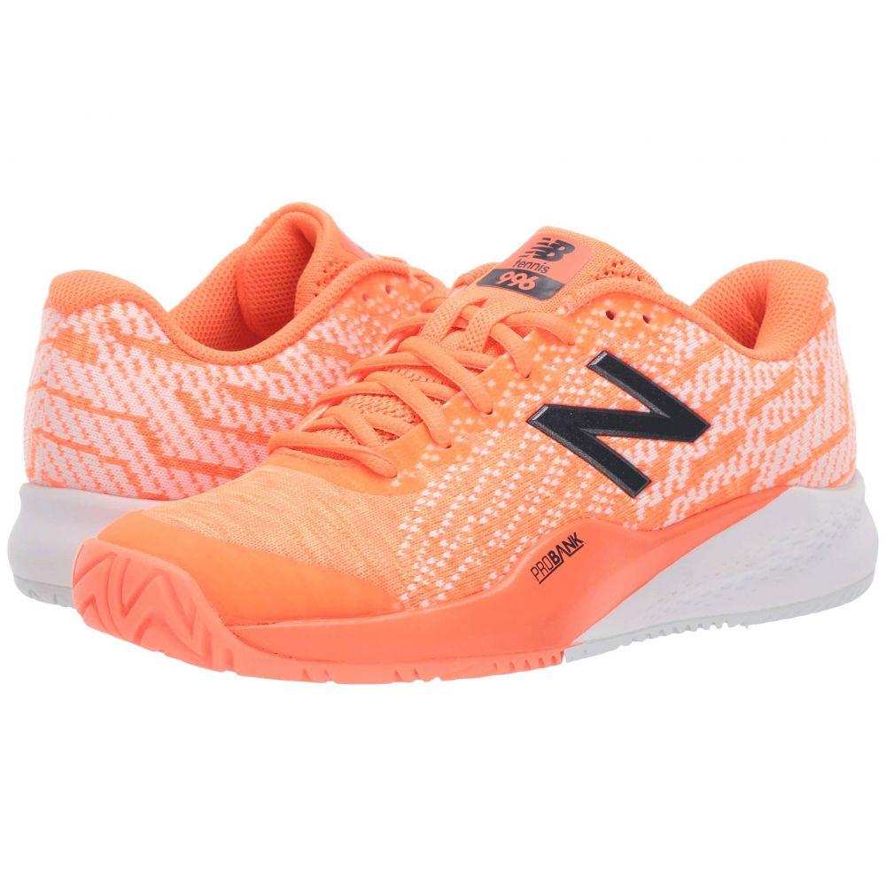 ニューバランス メンズ テニス シューズ・靴 Dark Mango/Vintage 【サイズ交換無料】 ニューバランス New Balance メンズ テニス シューズ・靴【MCH996v3】Dark Mango/Vintage