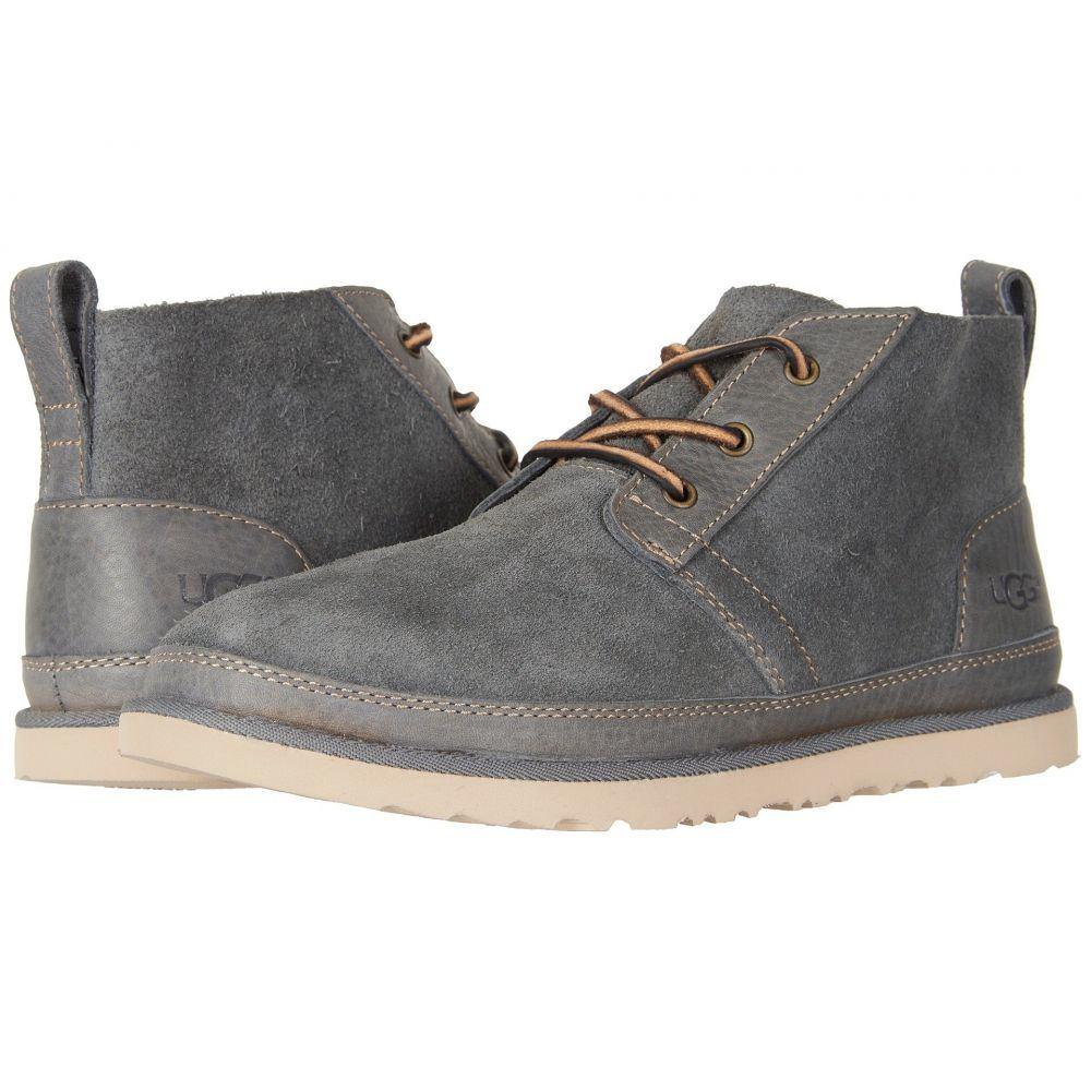 アグ UGG メンズ ブーツ シューズ・靴【Neumel Unlined Leather】Charcoal