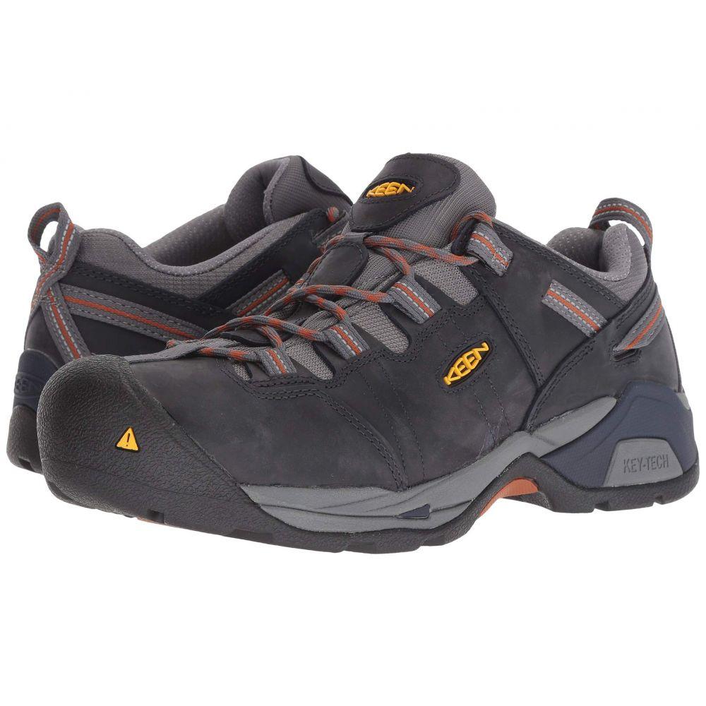 キーン Keen Utility メンズ スニーカー シューズ・靴【Detroit XT Steel Toe】Navy Peacoat/Leather Brown