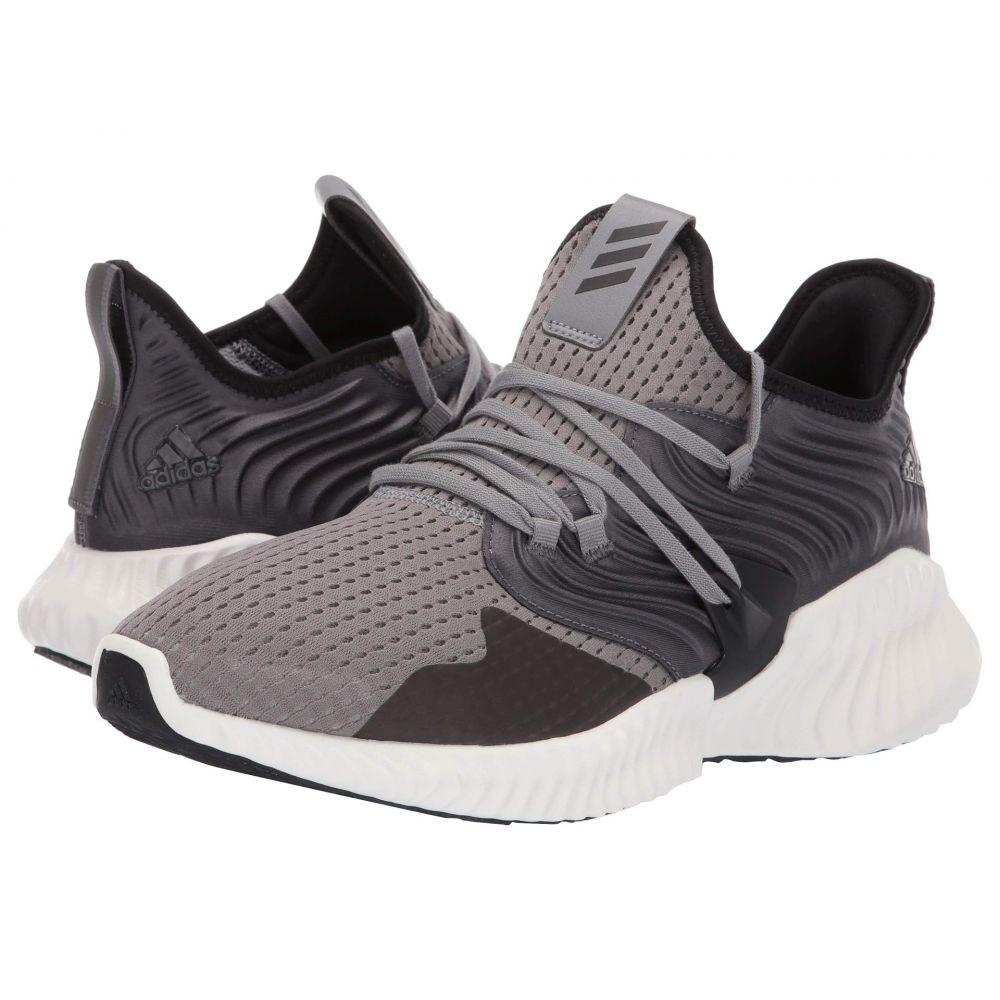 アディダス メンズ テニス シューズ・靴 Grey Three/Core Black/Grey Five 【サイズ交換無料】 アディダス adidas Running メンズ テニス シューズ・靴【Alphabounce Instinct CC】Grey Three/Core Black/Grey Five