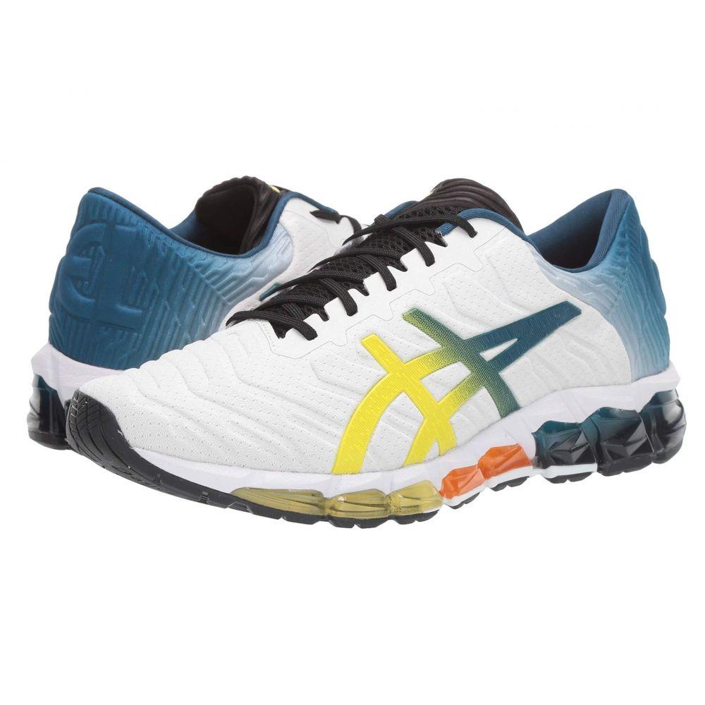 アシックス ASICS メンズ ランニング・ウォーキング シューズ・靴【GEL-Quantum 360 5】White/Sour Yuzu