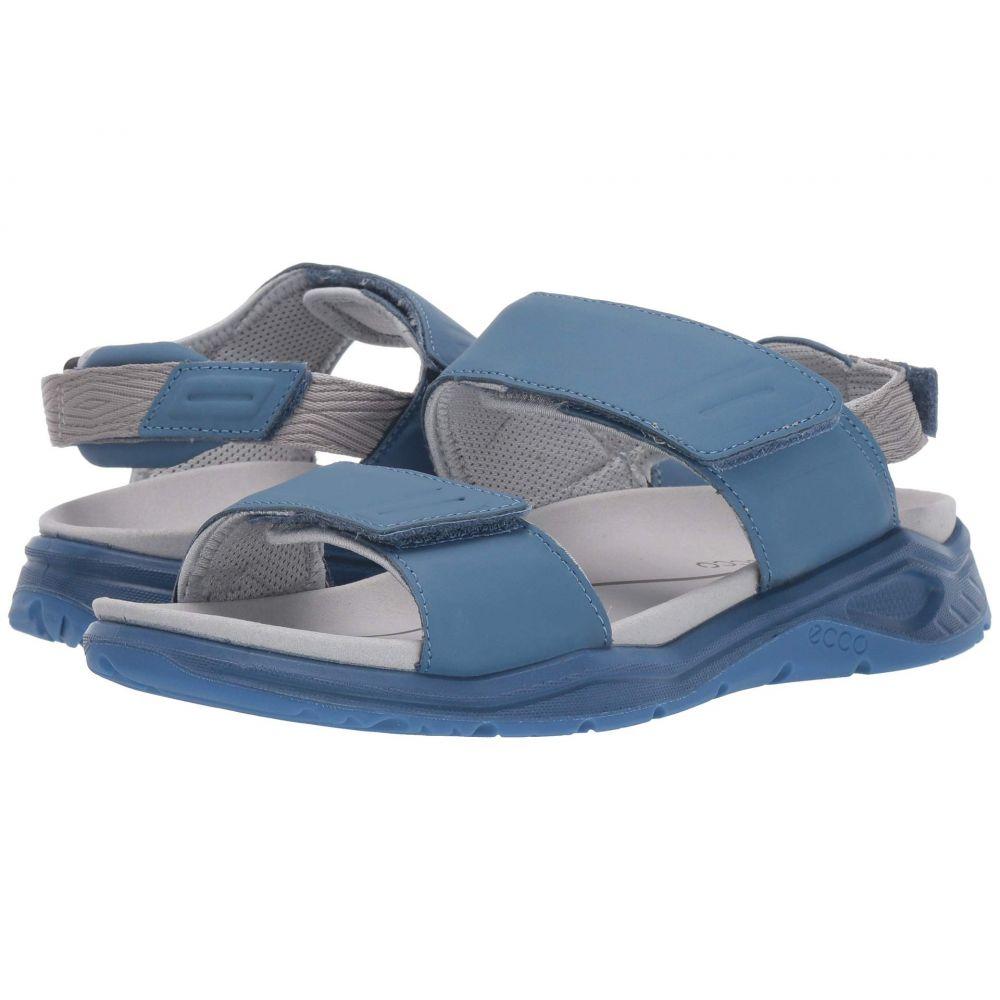 エコー ECCO Sport レディース サンダル・ミュール シューズ・靴【X-Trinsic Leather Sandal】Retro Blue Cow Leather