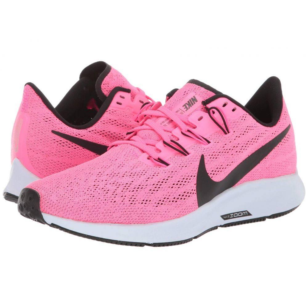 ナイキ レディース ランニング・ウォーキング シューズ・靴 Hyper Pink/Black/Half Blue 【サイズ交換無料】 ナイキ Nike レディース ランニング・ウォーキング エアズーム シューズ・靴【Air Zoom Pegasus 36】Hyper Pink/Black/Half Blue