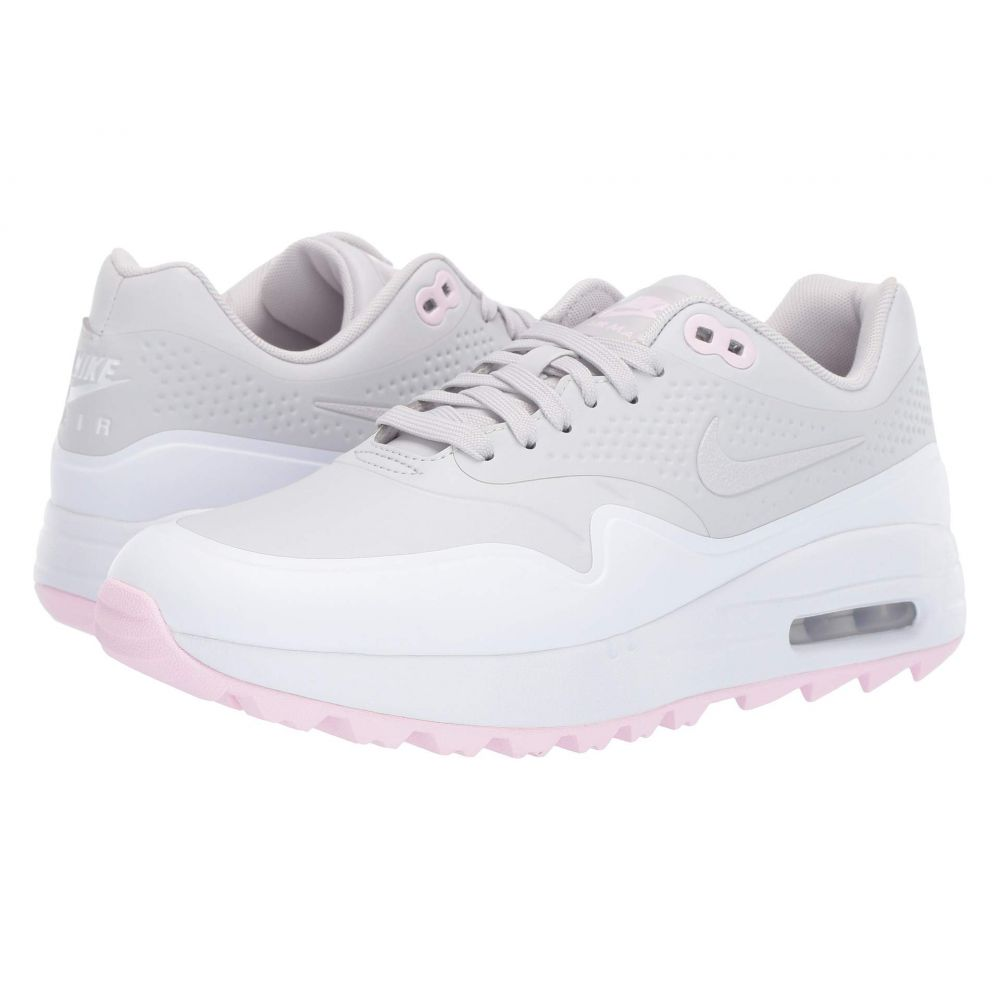 ナイキ レディース ゴルフ シューズ・靴 Vast Grey/Vast Grey/White/Pink Foam 【サイズ交換無料】 ナイキ Nike Golf レディース ゴルフ シューズ・靴【Air Max 1 G】Vast Grey/Vast Grey/White/Pink Foam