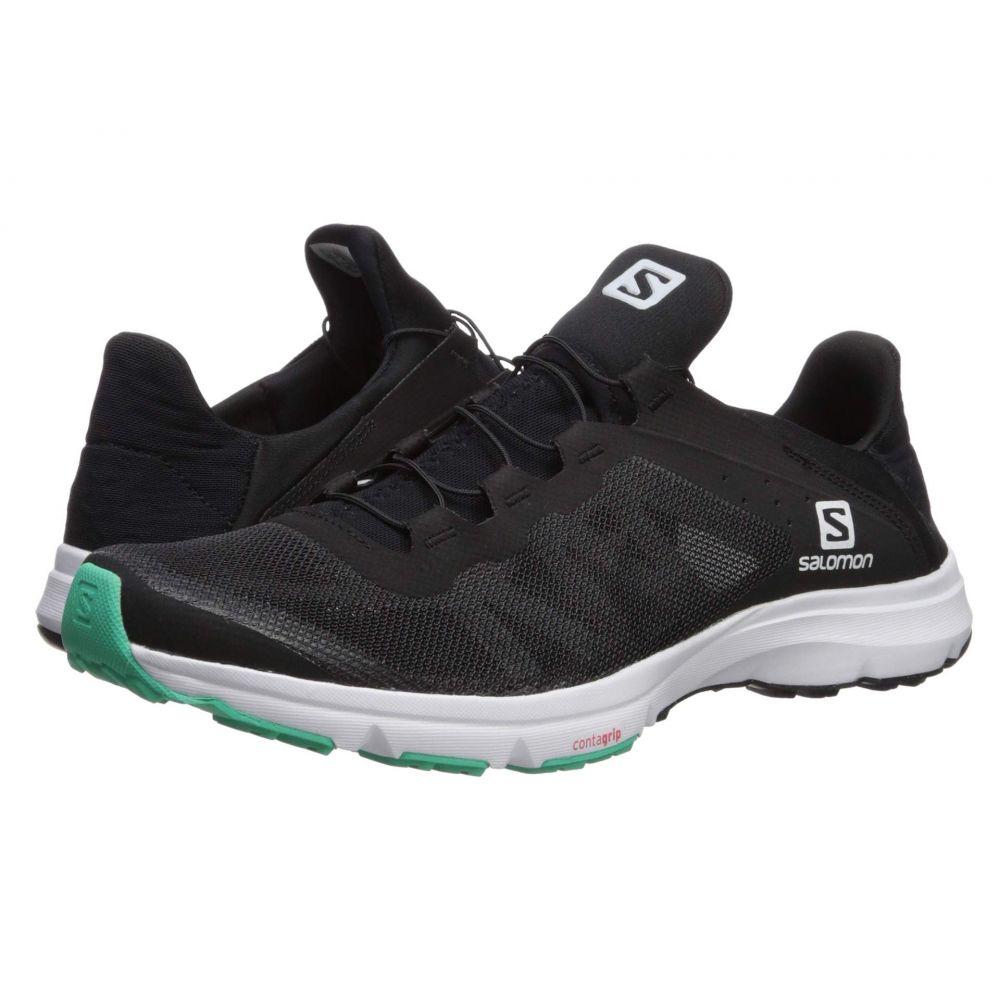サロモン Salomon レディース ランニング・ウォーキング シューズ・靴【Amphib Bold】Black/White/Electric Green
