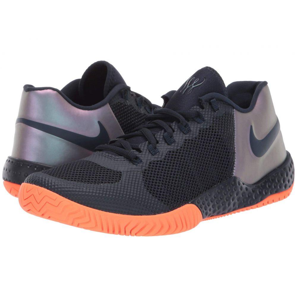 ナイキ レディース テニス シューズ・靴 Dark Obsidian/Dark Obsidian 【サイズ交換無料】 ナイキ Nike レディース テニス シューズ・靴【Flare 2 HC】Dark Obsidian/Dark Obsidian